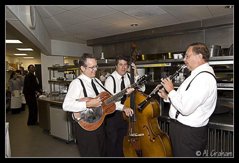 new orleans themed trio band for events